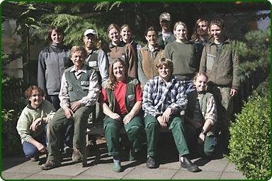 Mitarbeitende vor gut 20 Jahren